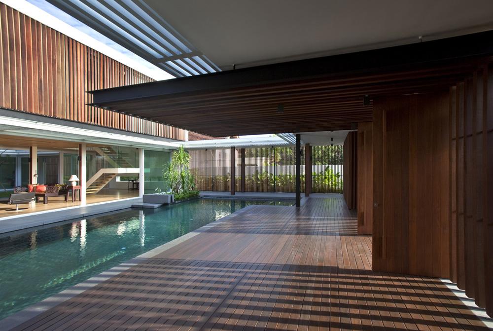 Enclosed Open House U00bb Wallflower Architecture + Design | Award Winning Singapore Architects