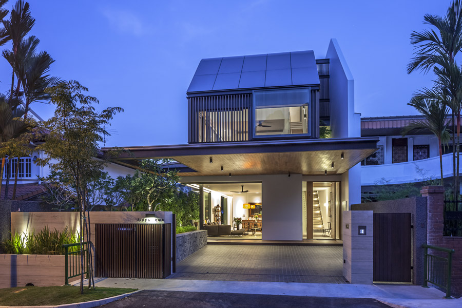 Far sight house wallflower architecture design award winning singapore architects
