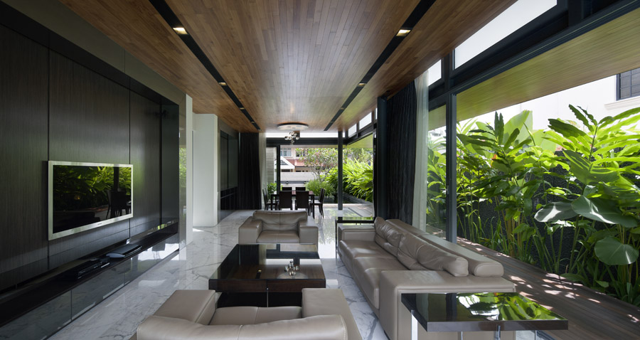 Travertine Dream House » Wallflower Architecture + Design | Award Winning  Singapore Architects