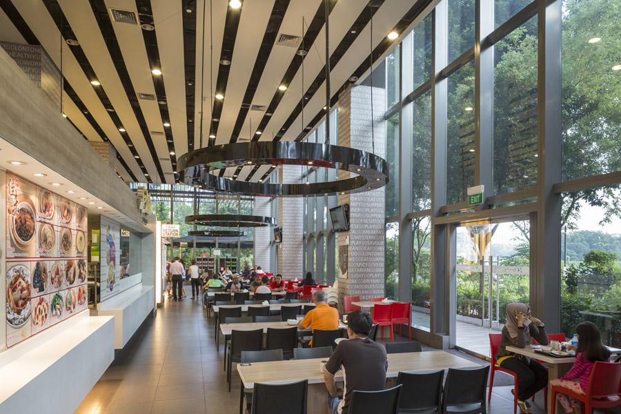 Foodfare ktph wallflower architecture design award for Award winning architects