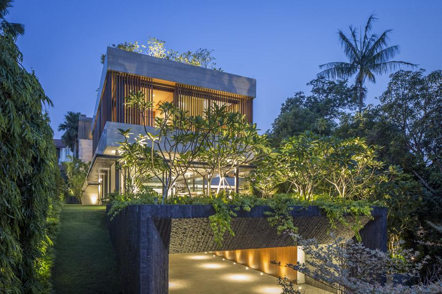Secret Garden House 187 Wallflower Architects Award